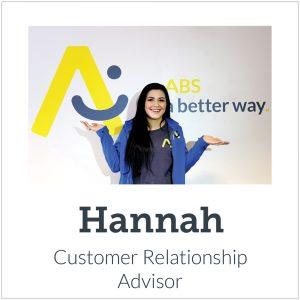 Meet our new team-Hannah