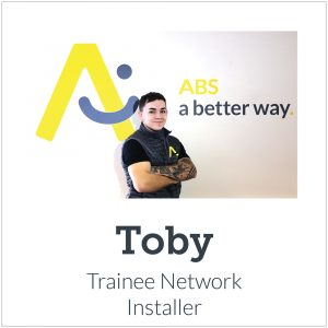 Meet our new team-Toby